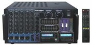 5000w Pro Karaoke Mixer Amplifier Recording W/ Built In Mp3 Usb And Hdmi