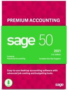 Sage 50 Premium 2021 U.s. 1-user Small Business Accounting Software Download
