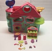 Lps Vintage The Biggest Littlest Pet Shop Large Playset W/ Accessories And Key