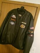 Rare Mens Harley Davidson Leather Jacket Xxl Only Wore Couple Times Perfect