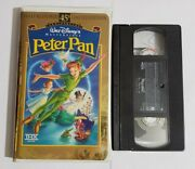 Disney👑peter Pan Vhs Masterpiece Collection Edition✨45th Anniversary Edition✨