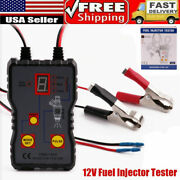 12v Auto Fuel Injector Tester 4 Pluse Modes Car Injector Cleaner Controler Usa