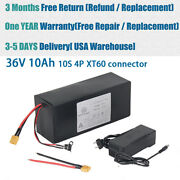 Ebike Lithium Li-ion Battery 36v 10ah For Andle500w Motor Scooter Electric Bicycle