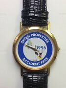 Vintage Disney 1996 Show Properties Accident Free Mickey And Tinkerbell Watch