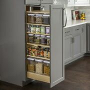 Kitchen Pantry Cabinet Rollout Shelves Pullout Drawers Heavy Duty Adjustable
