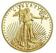 American Eagle 2021 One Ounce 1 Oz Gold Proof Coin 21eb - In Hand -
