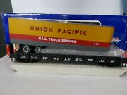 Usa Trains Trailer Train Car 476850 With Union Pacific Trailer G Scale
