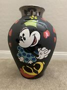 Decorative Vase Mickey And Minnie Mouse The Kiss Vase Limited Edition