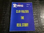 Oct 1970 The Ring Vintage Boxing Magazine - Muhammed Ali - Frazier Real Story