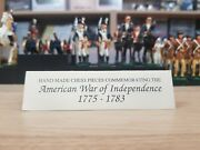 American War Of Independence 1775-1783 Chess Pieces Studio Anne Carlton No Board