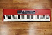 Nord Piano 4 88 Stage Piano Dents In Housing On Front And Top Left Fully Funct