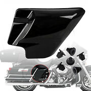 Motorcycle Side Cover Panel+rubber Grommets For Harley Electra Street Glide Flhx