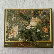 Pastime Puzzles Color Spots Jigsaw 1000 Unique Whimsy Piece Cat Brand New Sealed