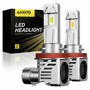 Auxito H11 Led Headlights For Toyota Sienna 11-2020 Prius 2010-2015 Super Bright