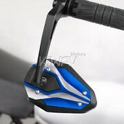 Bar End Mirrors Viperii Black And Blue 16mm Fits Yamaha Majesty Smax Tmax530