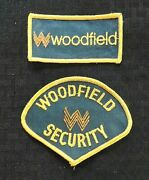 1972 Woodfield Mall Security Police Schaumburg Il Illinois Patch Chicago State