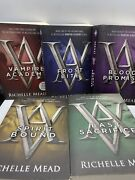 Lot 5 Vampire Academy Series Books 1,2,4, 5 And 6 By Richelle Mead