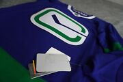 Newadidas Nhl Menand039s Vancouver Canucks 3rd Authentic Hockey Jersey Eh6719 Size 46