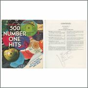 Paul Mccartney Autographed 1982 Guinness Book Of 500 Number One Hits Book Uk