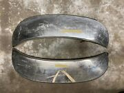 1968 Ford Fender Skirts Galaxie And Custom 500 Foxcraft Stainless Steel Pair