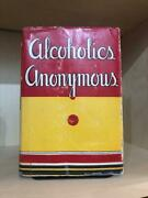 Alcoholics Anonymous First Edition 16th Printing Original Dust Jacket