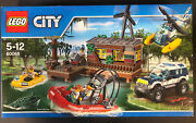 Lego City Police 60068 Crooksand039 Hideout New Sealed Swamp Robbers