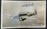 1940 London England Valentines Picture Postcard Cover To Kent Avro Anson Planes