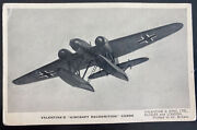 Mint England Valentines Picture Postcard Aircraft Recognition Plane Type A