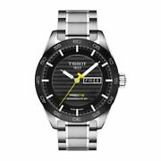 New Tissot Prs 516 Automatic Day-date Black Menand039s Watch T100.430.11.051.00