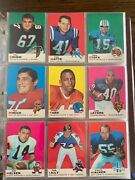 1969 Topps Complete Set 1-263 Amazing Condition Football Cards Rookies See Pics