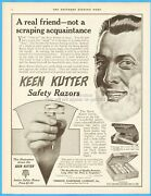 1912 Keen Kutter Safety Razor Simmons Hardware St Louis Mo Shaving Shave Ad