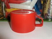 Red Aladdin,lunchbox Cup-for Thermoses W/metal Tops And Use Lox-30 Or A Sweet Seal