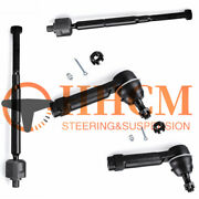 4pc Inner And Outer Tie Rod End Set Fit For Dodge Caliber Jeep Compass Patriot