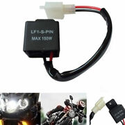 2-pin 12v Electronic Led Flasher Relay Fix Motorcycle-turn Signal-lights Blinker