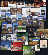 2005 Portugal, Azores, Madeira Complete Year Mnh. 32 Souvenir Sheets, Blocks.