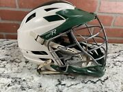 Cascade Cpx-r Lacrosse Lax Helmet White Green Cpxr One Size Fits Most Chinstrap
