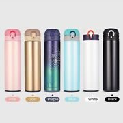 Stainless Steel Double Cup Vacuum Thermos Hot Water Tea Sport Cup Bottle Flask