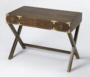 West Indies Campaign Writing Desk - Console Table - Free Shipping