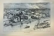 1885 Buffalo New York Fort Erie Light House Soldiers And Sailors Monument