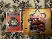 2021 Topps Gpk Collectors Club- Trash Can-didates Set 1- Plus Collector Pin