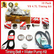 Complete Timing Belt + Water Pump Kit V8 4.7 Genuine And Oe Manufacture Parts