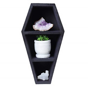 Artisans Of India Great Birthday Gifts Coffin Shelf - Halloween Horror Style And