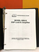 Stanford Reseach Systems Model Sr810 Dsp Lock-in Amplifier