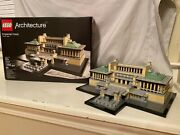Lego Architecture Imperial Hotel 21017 Instructions And Box Retired