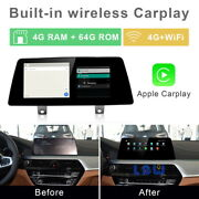 8-core Android Car Gps Navigation System Wireless Carplay For Bmw 5 Series 2018