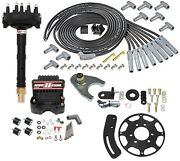 Msd Ignition 85583k Crank Trigger Distributor Kit Tall Block Chevy V8 Includes