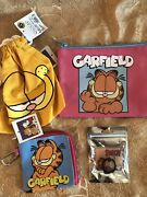Garfield Storage Bag, Finger Ring For Phone, Wallet From Japan