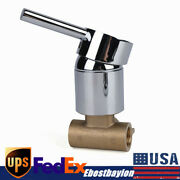 1 Handle Wall Mount Shower Tap Control Valve Brass Bath Mixer Faucet Hot And Cold