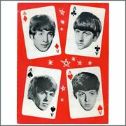 The Beatles/mary Wells 1964 Four Aces Tour Programme Uk