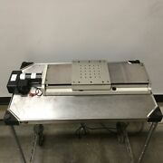 Aerotech Ats20030-m-40p Motorized Linear Stage 300mm Travel 4mm/rev 1050lt